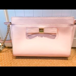 Kate spade Light pink crossover purse